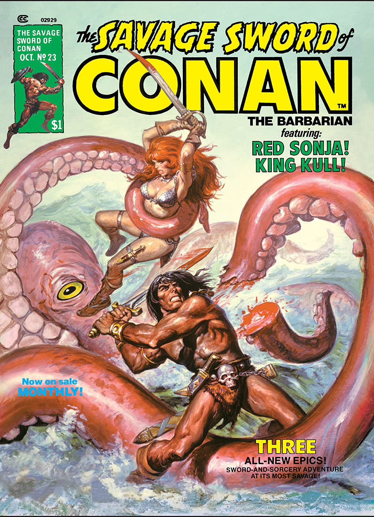 Savage Sword of Conan Vol 1 23