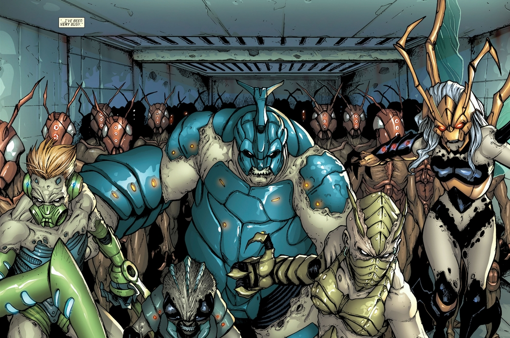 Slayer Swarm (Earth-616)
