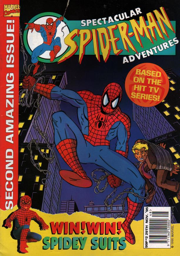 Spectacular Spider-Man (UK) Vol 1 2