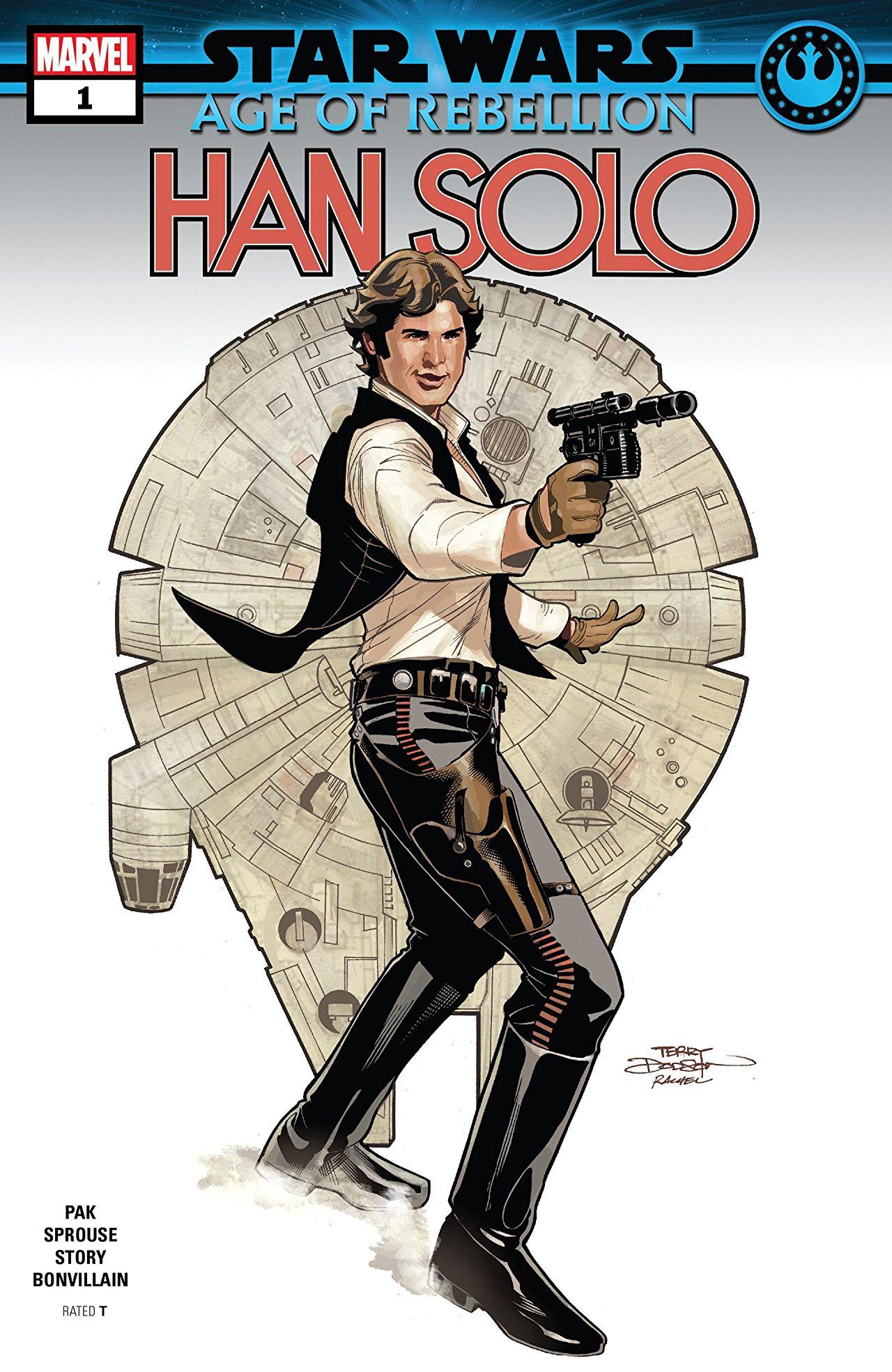 Star Wars: Age of Rebellion - Han Solo Vol 1 1