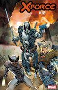 X-Force Vol 6 18 Deadpool 30th Anniversary Variant B
