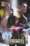 Age of X-Man X-Tremists Vol 1 1 Lee Connecting Variant