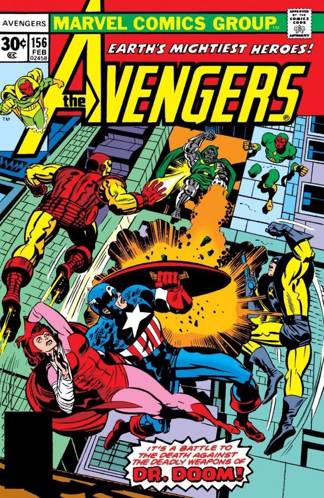 Avengers Vol 1 156