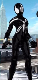 Black Suit Spider-Girl (Mayday Parker) from Spider-Man Unlimited (Video Game) 0001.jpg