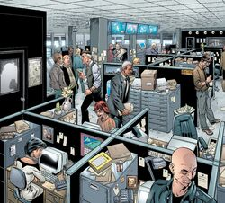 Daily Bugle (The DB!) (Earth-616) from The Pulse Vol 1 2 001.jpg