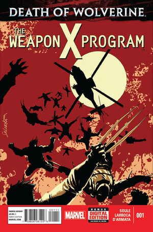Death of Wolverine The Weapon X Program Vol 1 1.jpg