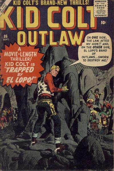 Kid Colt Outlaw Vol 1 86
