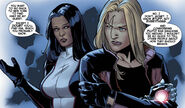 Monet St. Croix (Earth-616) and Layla Miller (Earth-616) from X-Factor Vol 1 253 001
