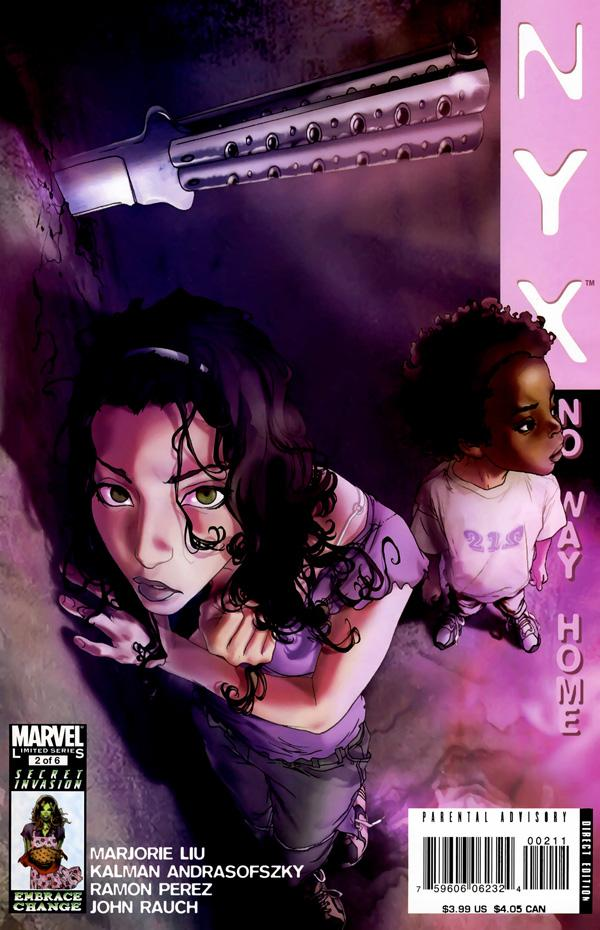 NYX: No Way Home Vol 1 2