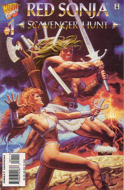 Red Sonja: Scavenger Hunt Vol 1 1