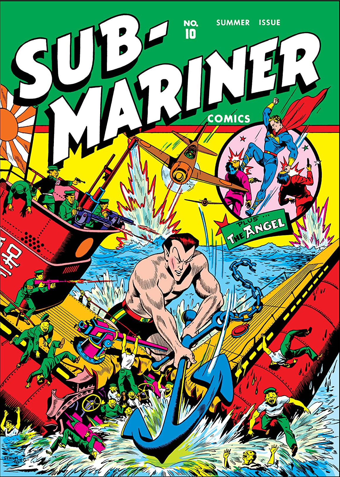 Sub-Mariner Comics Vol 1 10