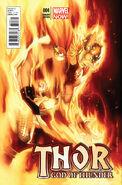 Thor God of Thunder Vol 1 4 Olivier Coipel Variant