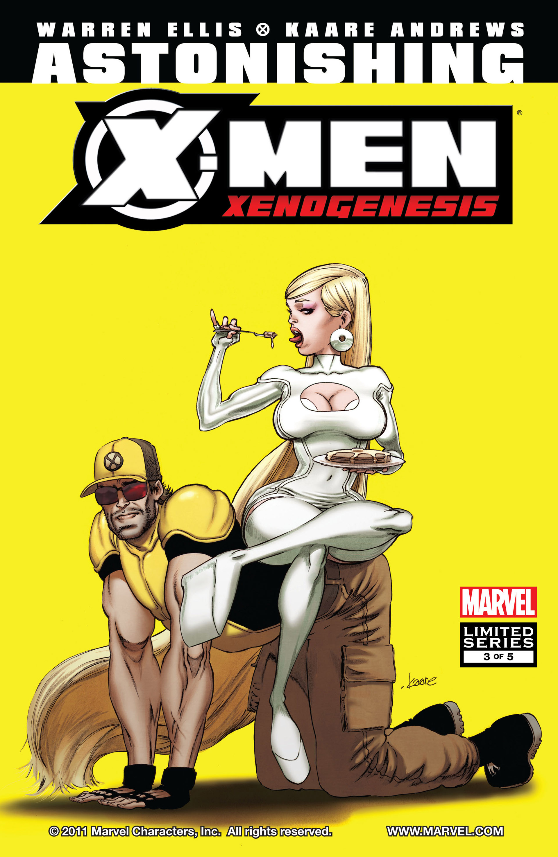 Astonishing X-Men: Xenogenesis Vol 1 3