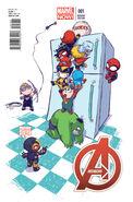 Avengers Vol 5 1 Baby Variant