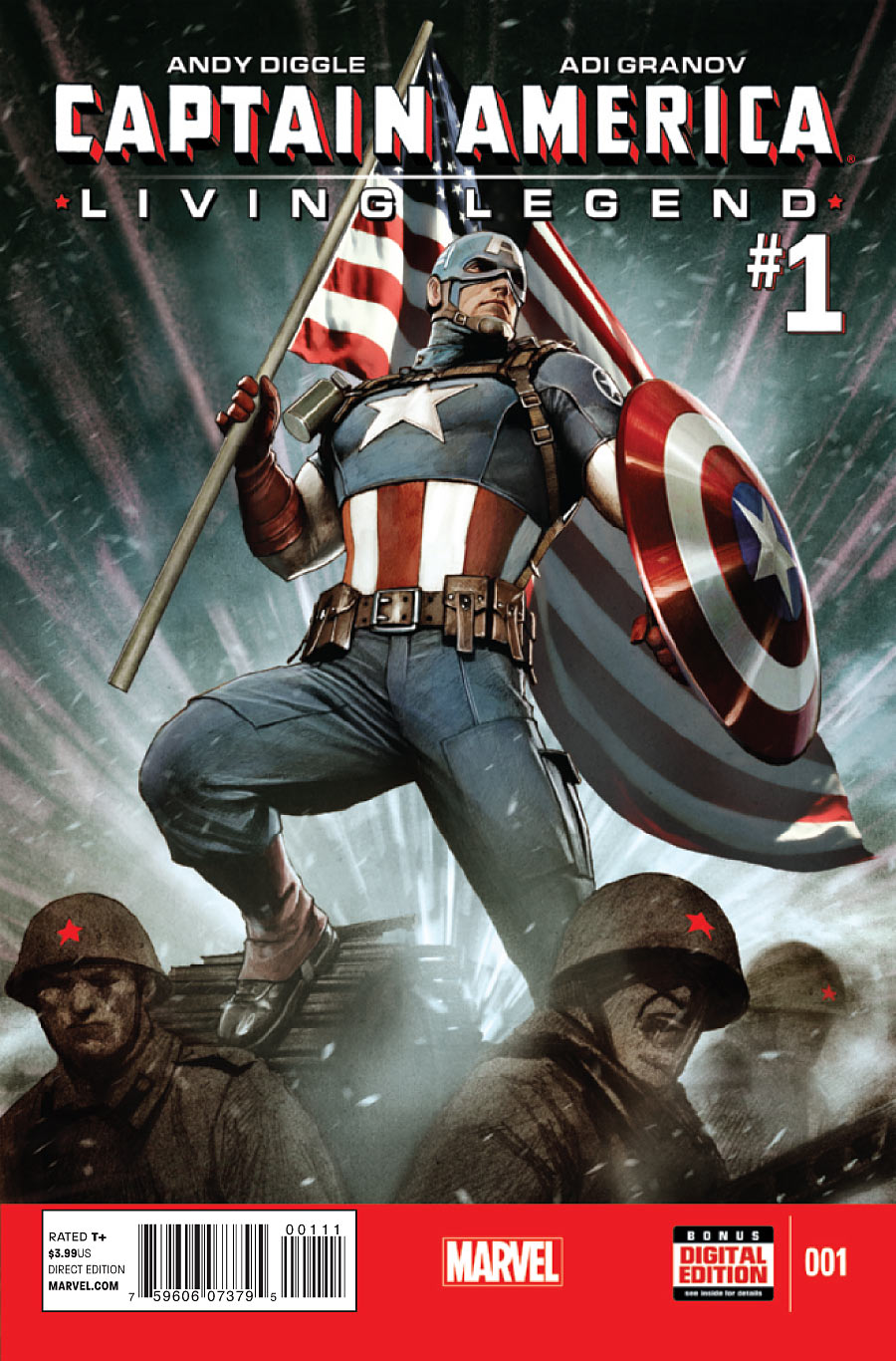 Captain America: Living Legend Vol 1 1