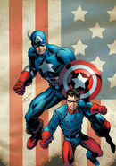 Captain America and Bucky Vol 1 620 Bagley Variant Textless