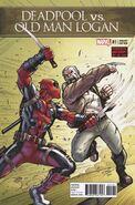Deadpool vs. Old Man Logan Vol 1 1 Lim Variant