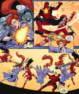 Elsa Bloodstone (Earth-616), Wade Wilson (Earth-616) and Elektra Natchios (Earth-616) from Thunderbolts Annual Vol 2 1 001