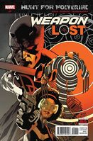 Hunt for Wolverine Weapon Lost Vol 1 1