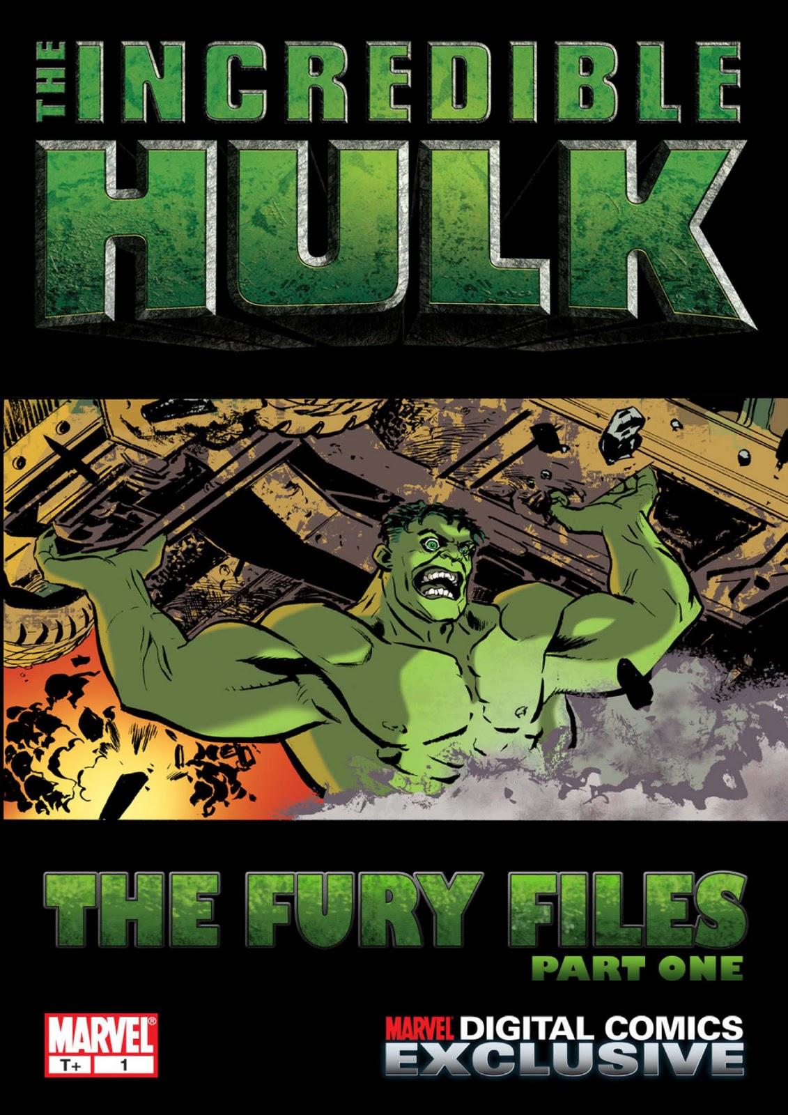 Incredible Hulk: The Fury Files Vol 1 1