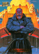 Johann Shmidt (Earth-616) from Marvel Masterpieces Trading Cards 1994 Set 0001