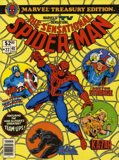 Marvel Treasury Edition Vol 1 22
