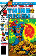 Marvel Two-In-One Annual Vol 1 2