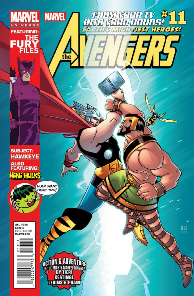 Marvel Universe: Avengers - Earth's Mightiest Heroes Vol 1 11