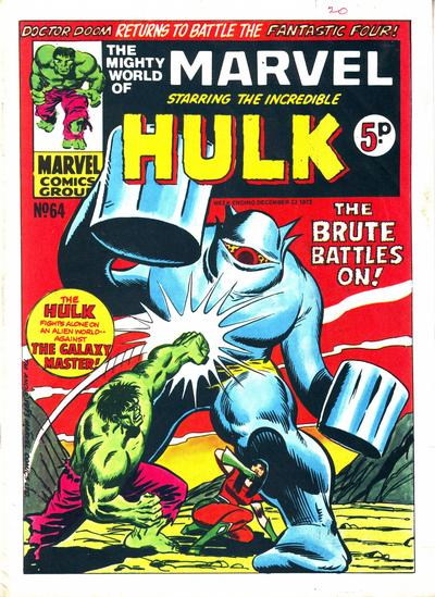 Mighty World of Marvel Vol 1 64