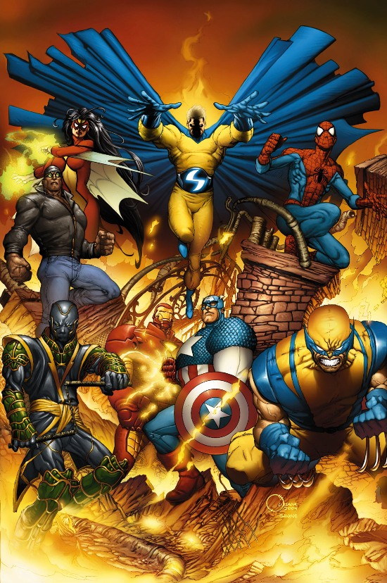 New Avengers (Earth-616)/Gallery