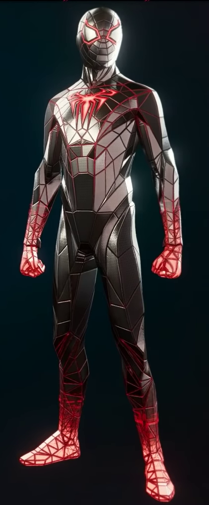 Spider-Man's Programmable Matter Suit from Marvel's Spider-Man Miles Morales.png