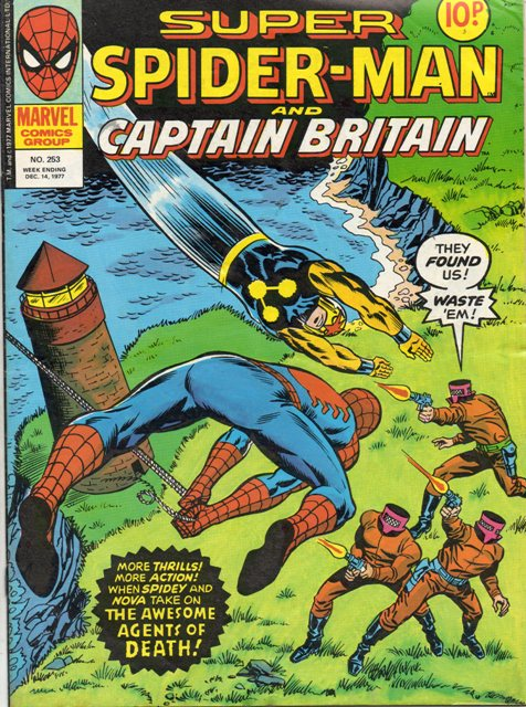 Super Spider-Man & Captain Britain Vol 1 253