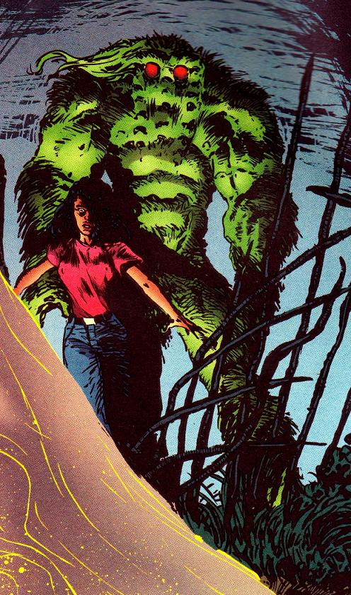 Theodore Sallis (Earth-616) and Ellen Brandt (Earth-616) from Man-Thing Vol 3 3 0001.jpg