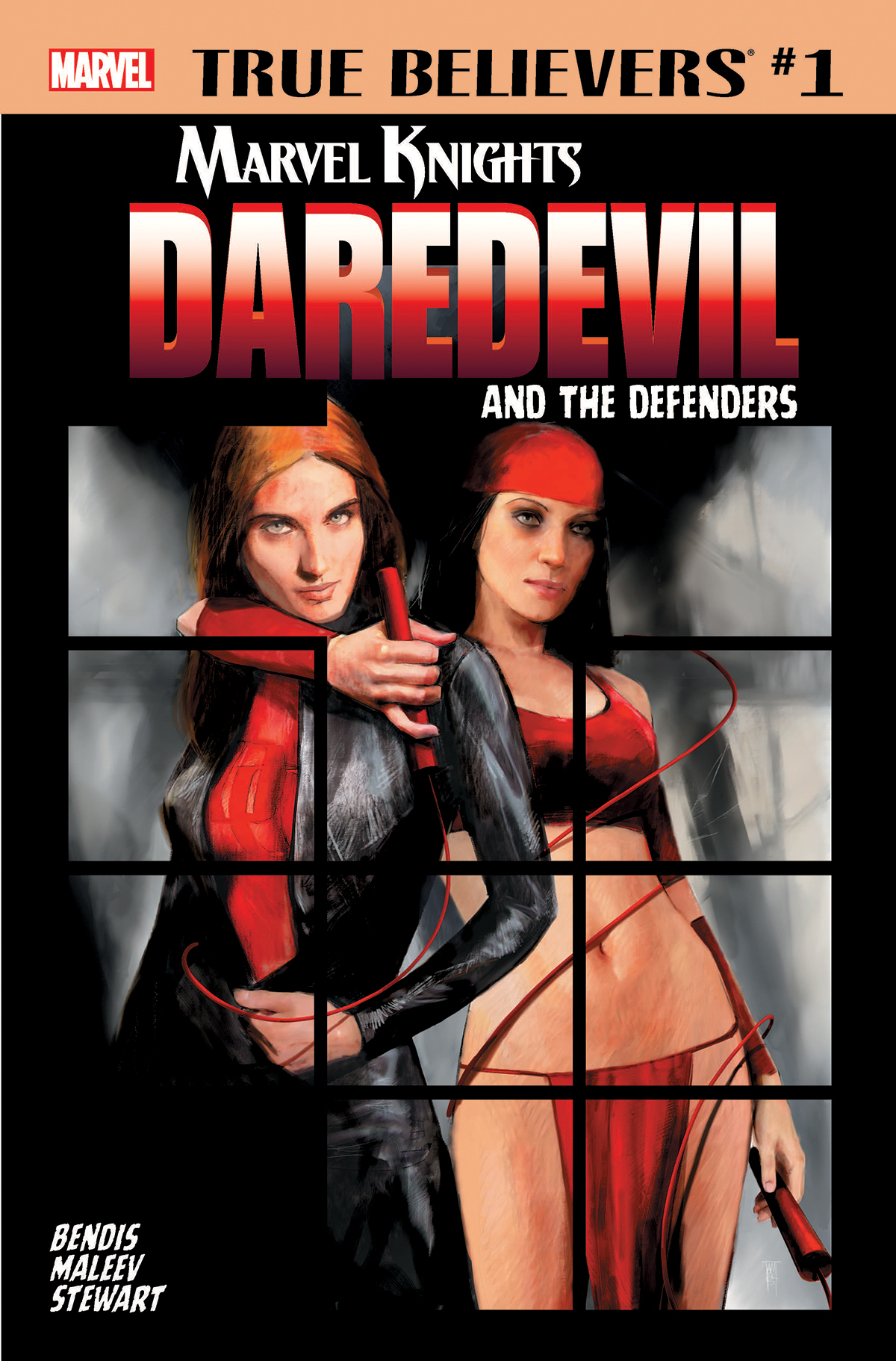 True Believers: Marvel Knights 20th Anniversary - Daredevil and the Defenders Vol 1