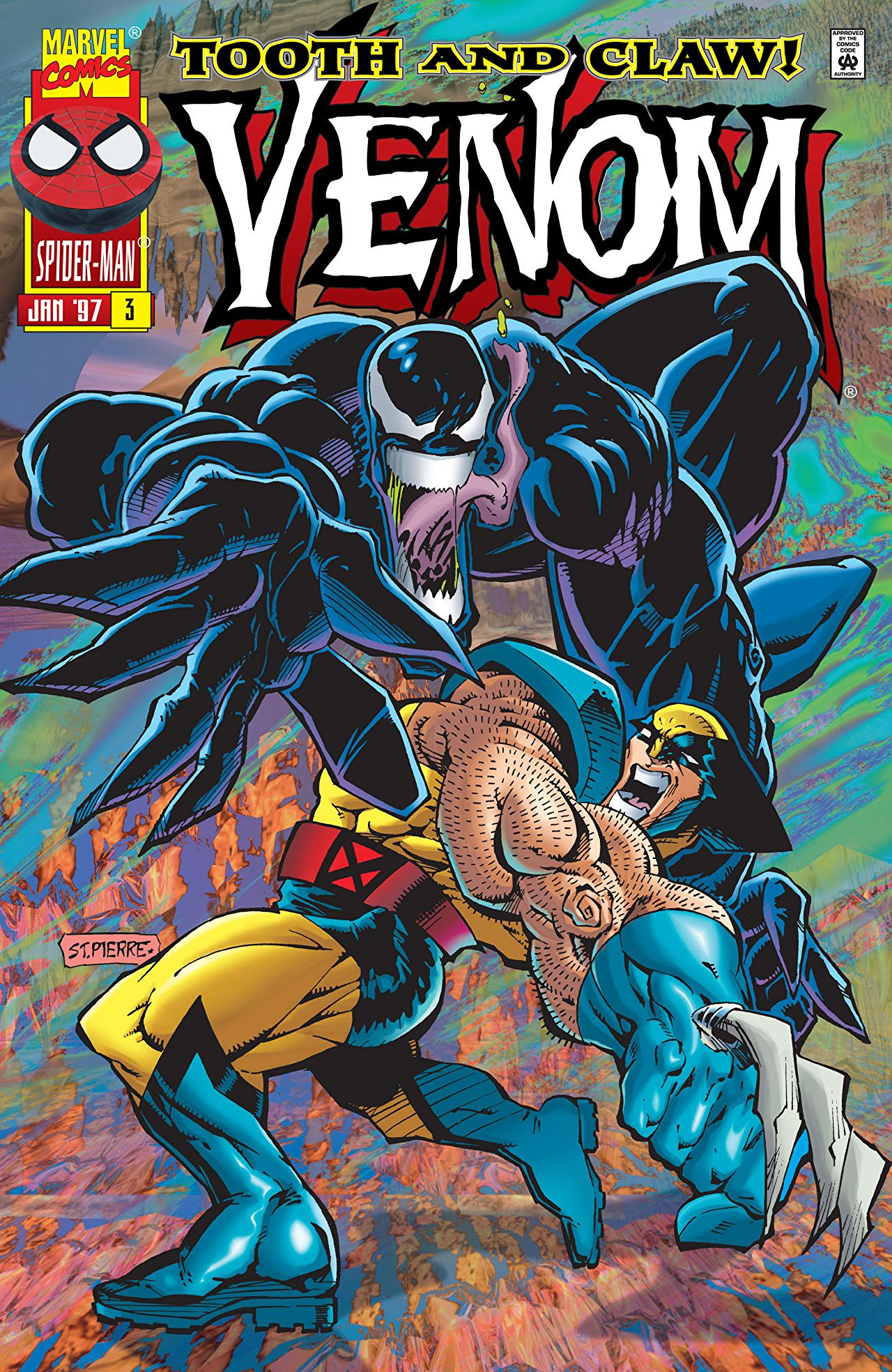 Venom: Tooth and Claw Vol 1 3