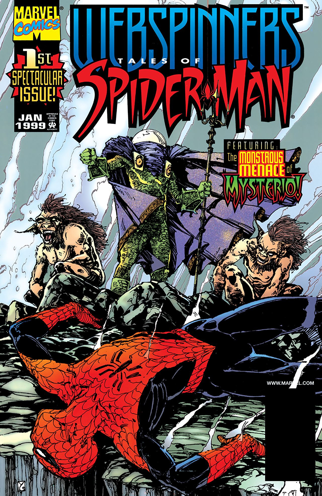 Webspinners: Tales of Spider-Man Vol 1