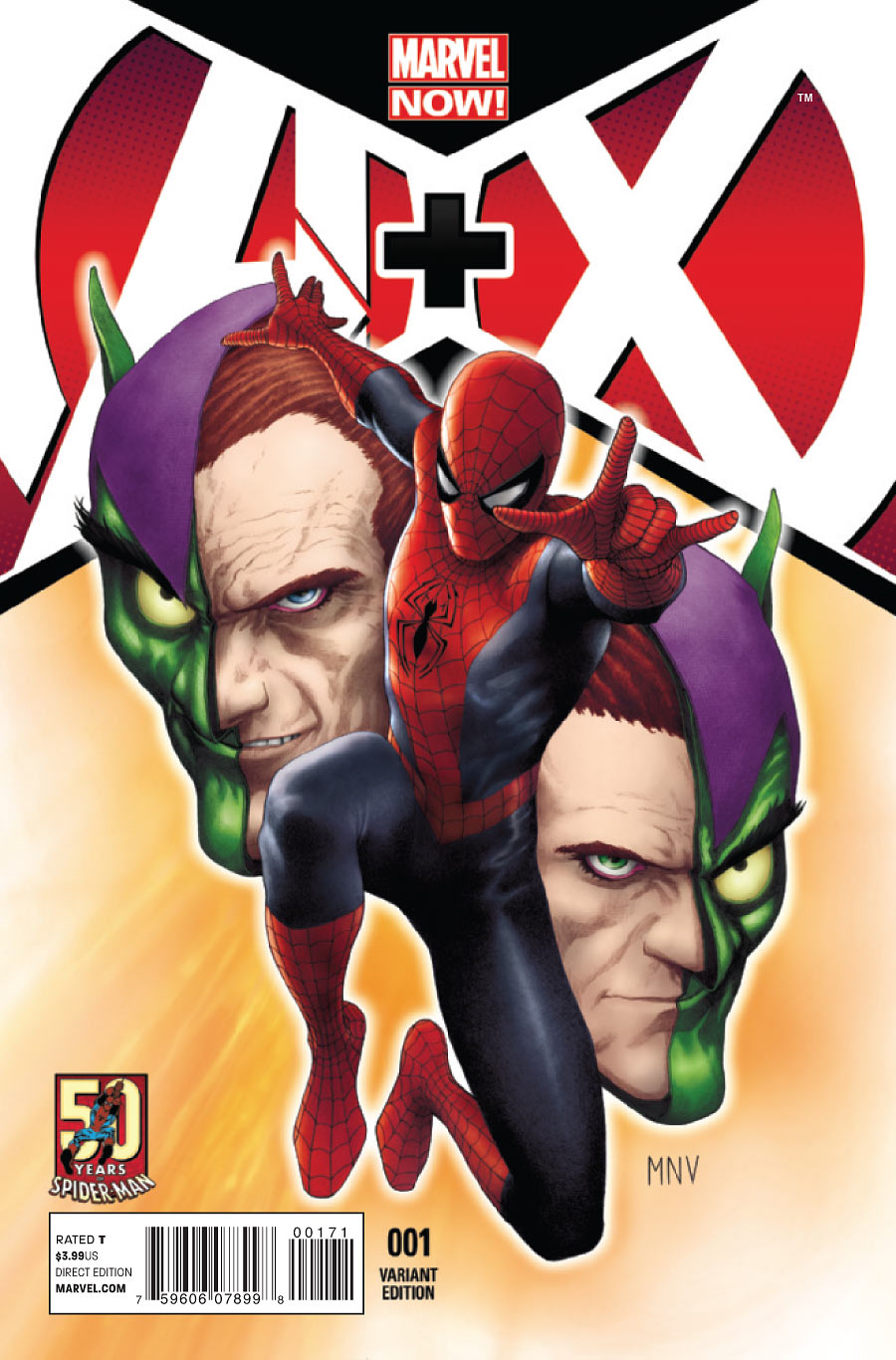 A + X Vol 1 1 50 Years of Spider-Man Variant.jpg
