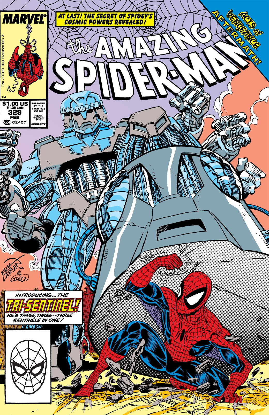 Amazing Spider-Man Vol 1 329