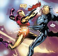 Anthony Stark (Earth-616) vs. Ultron (Earth-616) from Tony Stark Iron Man Vol 1 19 001