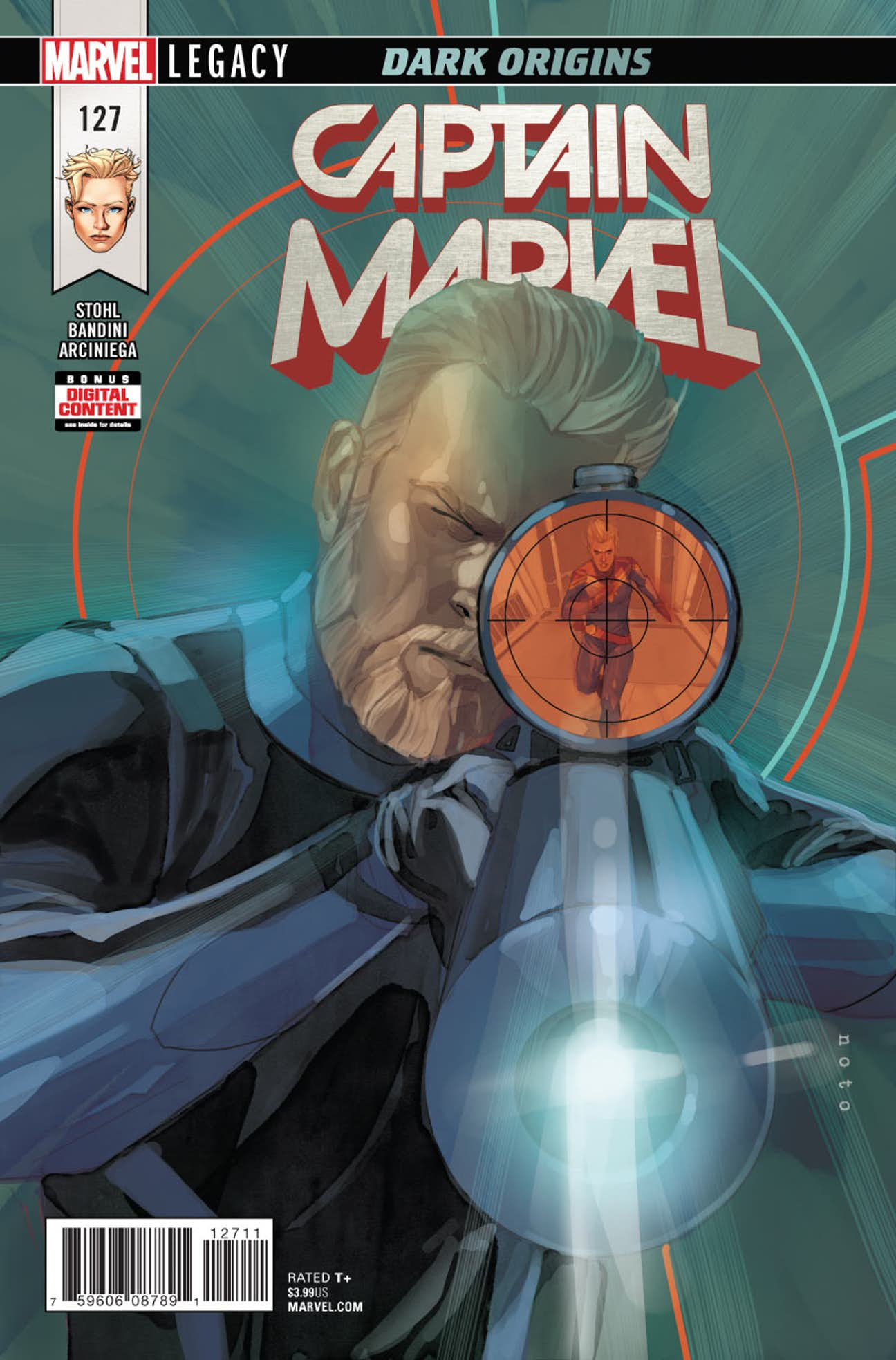 Captain Marvel Vol 7 127