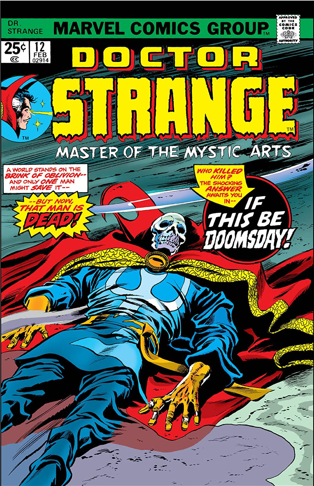 Doctor Strange Vol 2 12