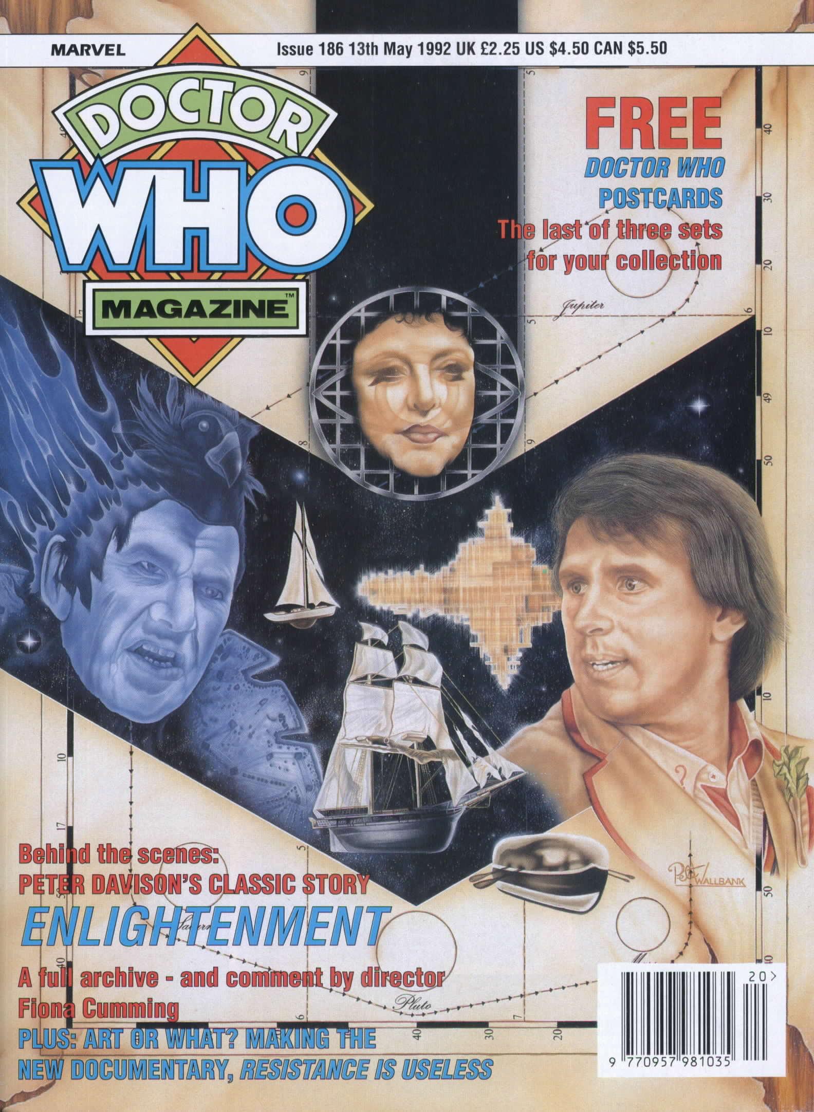 Doctor Who Magazine Vol 1 186
