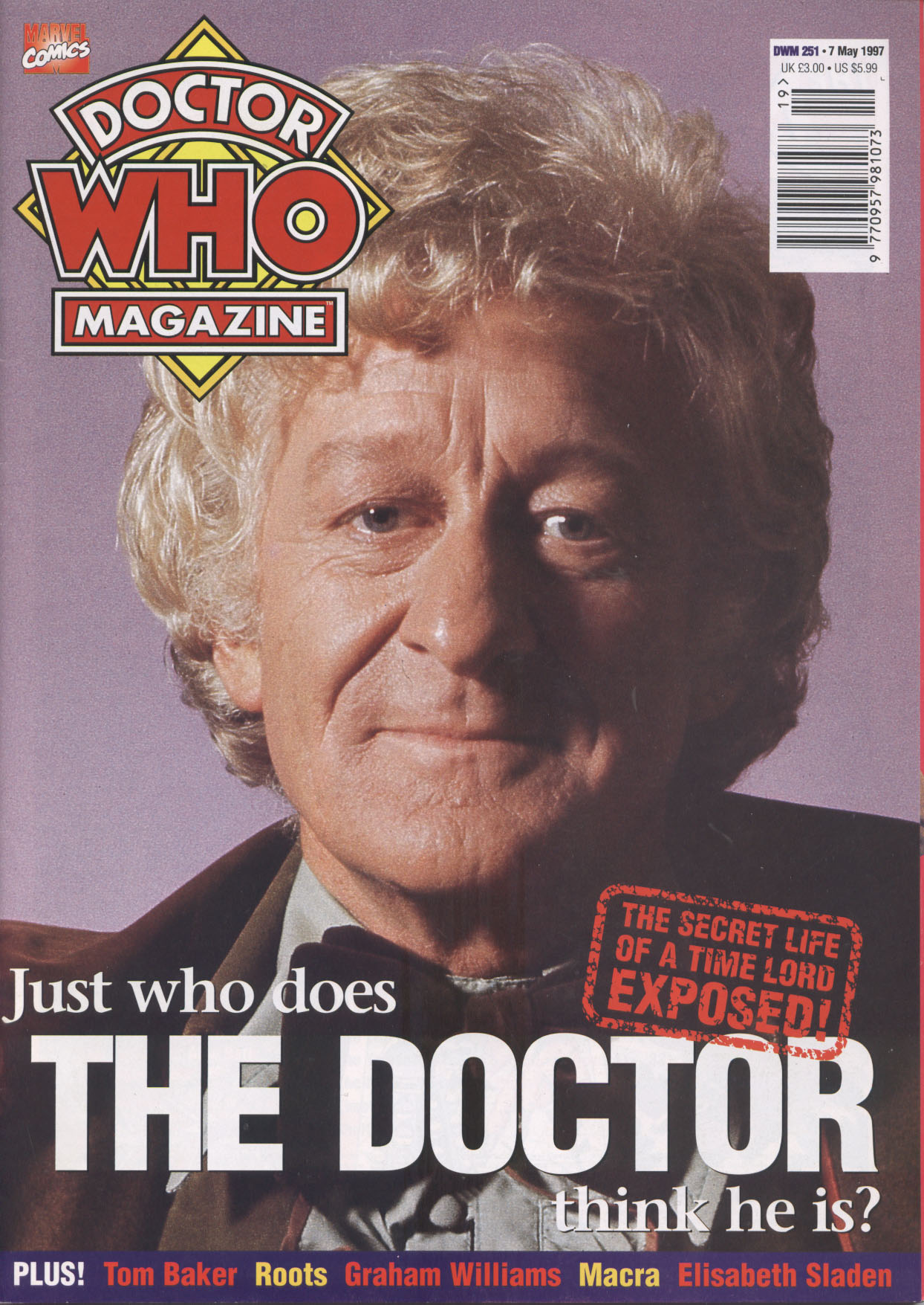 Doctor Who Magazine Vol 1 251
