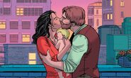 Jessica Drew (Earth-616), Roger Gocking (Earth-616) and Gerald Drew (Earth-616) from Spider-Woman Vol 6 17 001