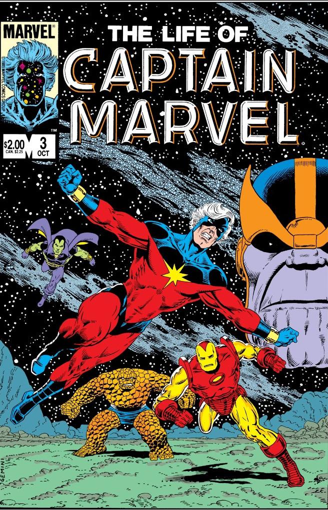 Life of Captain Marvel Vol 1 3