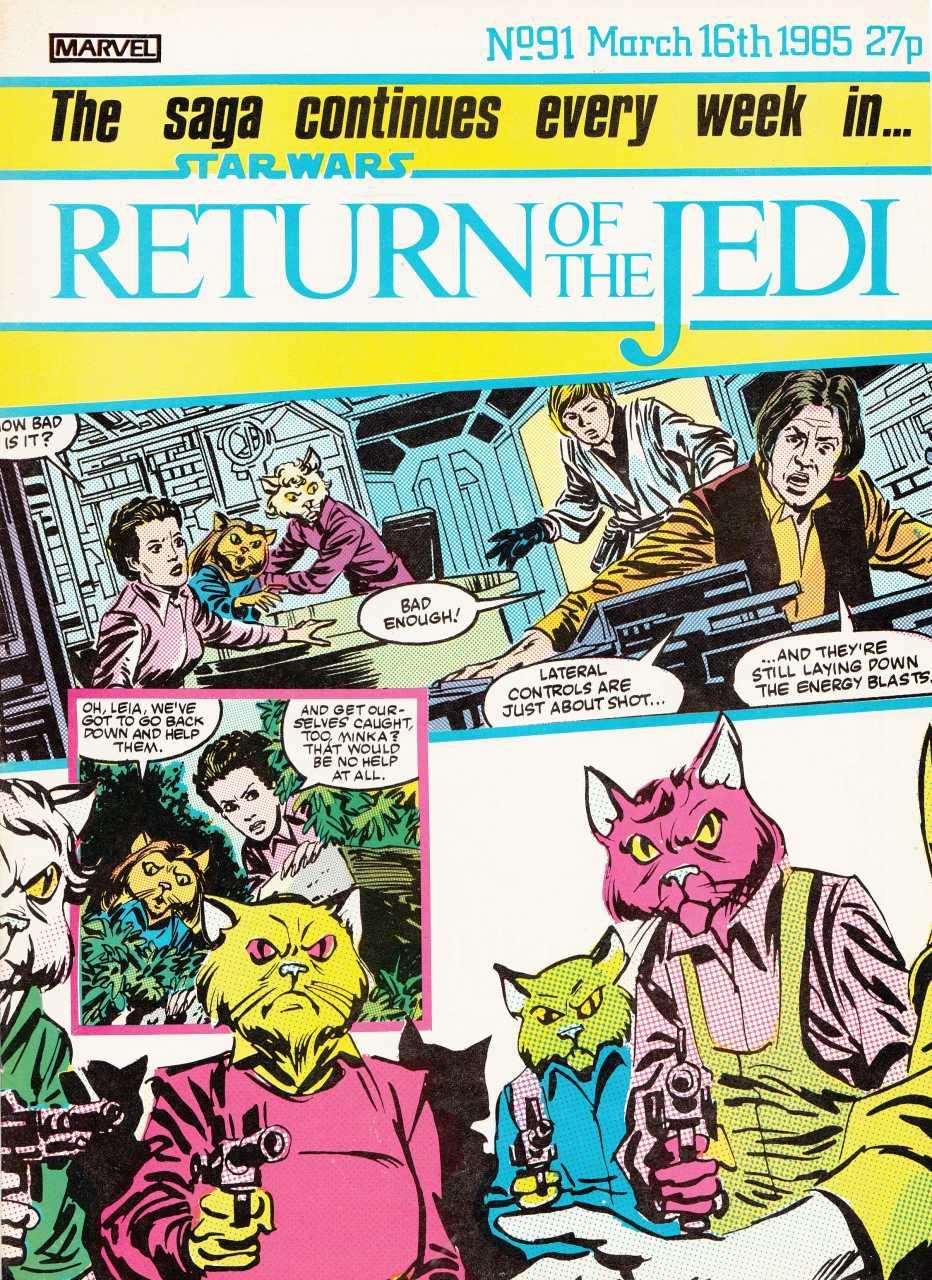 Return of the Jedi Weekly (UK) Vol 1 91