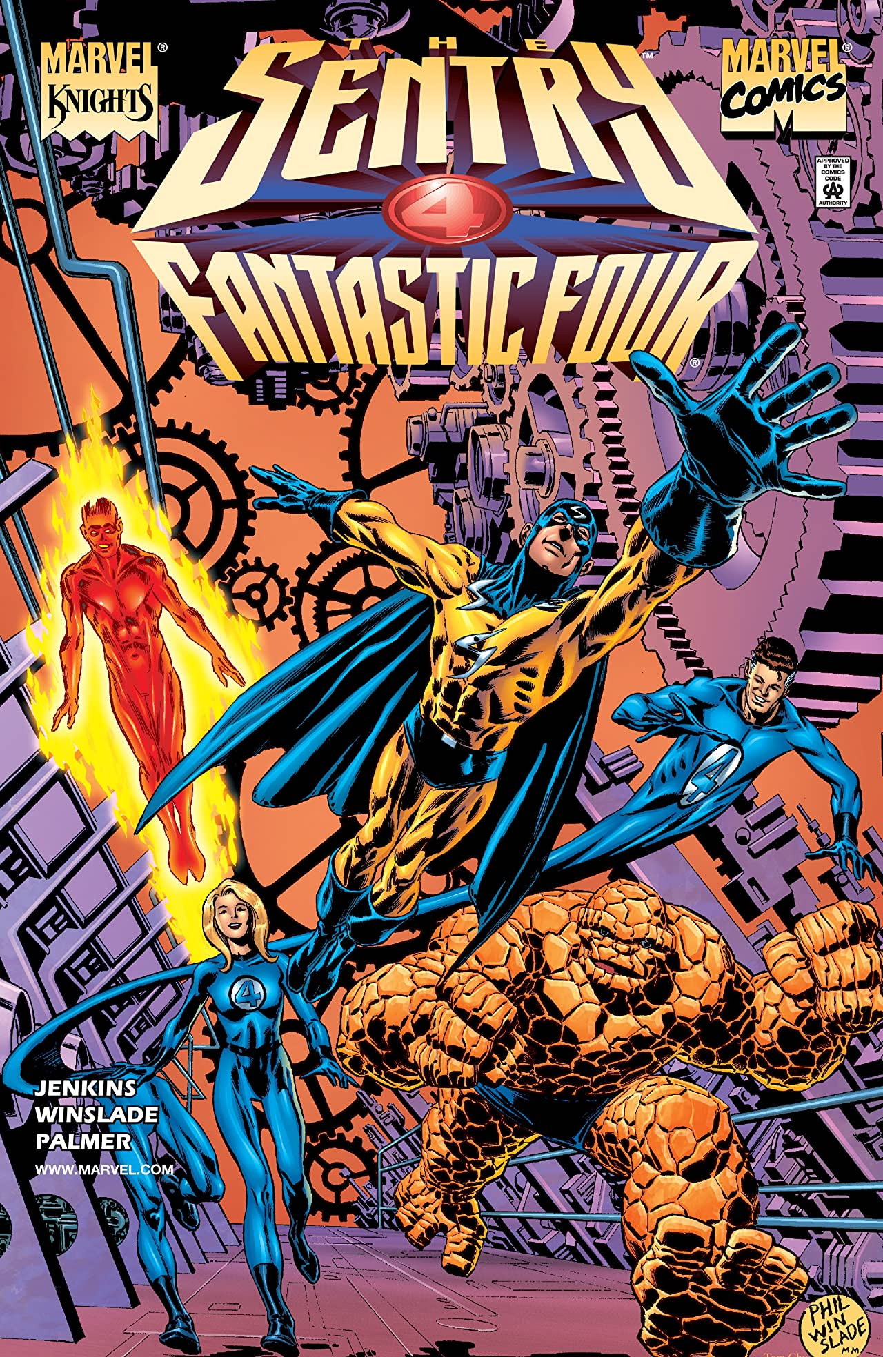Sentry: Fantastic Four Vol 1 1