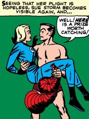 Susan Storm (Earth-616) and Namor McKenzie (Earth-616) from Fantastic Four Vol 1 4 0001.jpg