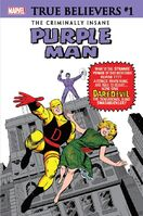 True Believers The Criminally Insane - Purple Man Vol 1 1