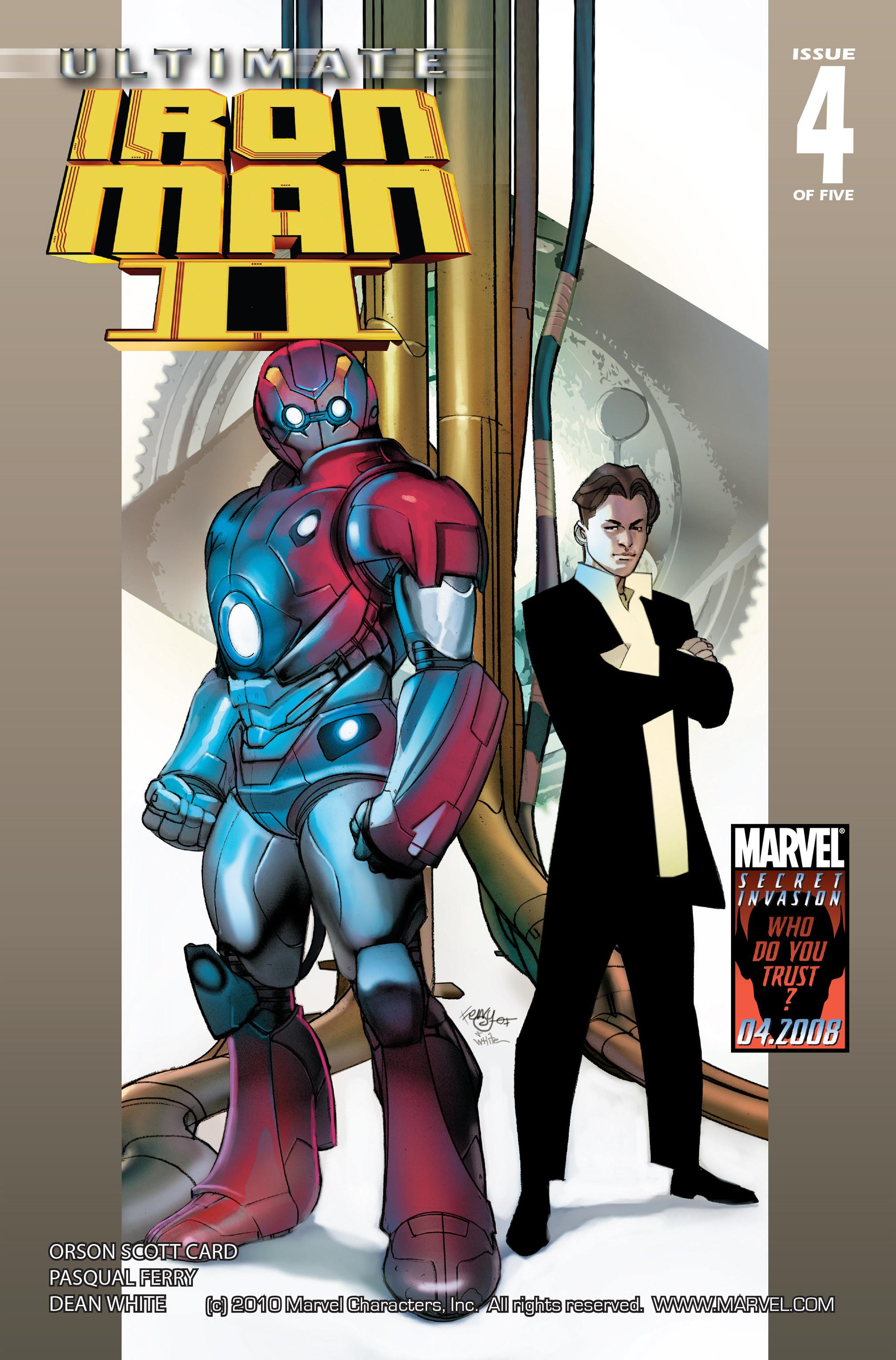 Ultimate Iron Man II Vol 1 4